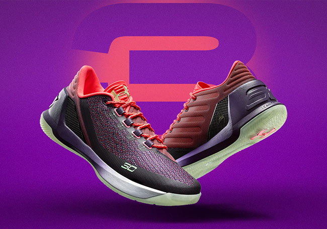 Under Armour Curry 3 Low Full Circle