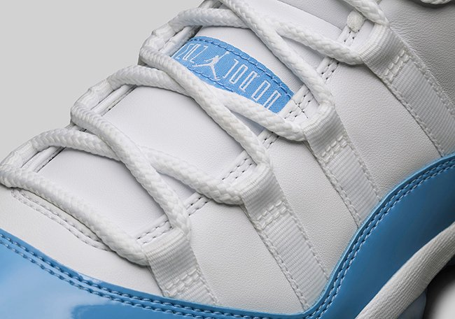 UNC Air Jordan 11 Low University Blue