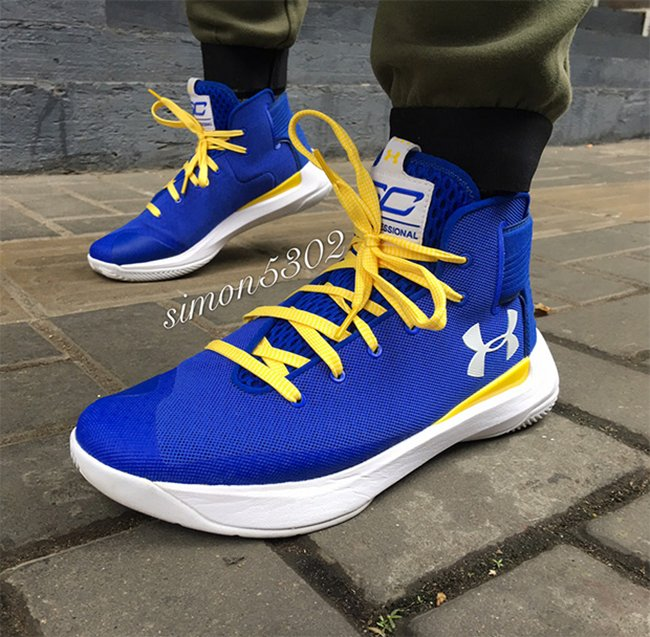 Under Armour Curry 3.5 Dub Nation Golden State Warriors
