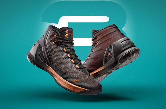 Under Armour Curry 3 Brass Band All-Star
