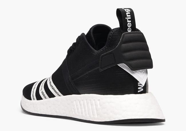 White Mountaineering x adidas NMD R2 Black White