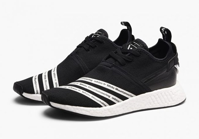 112685a14d40d White Mountaineering adidas NMD R2 Black White BB2978