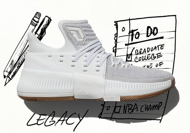 quality design a6799 4250b adidas Dame 3 Legacy Release Date