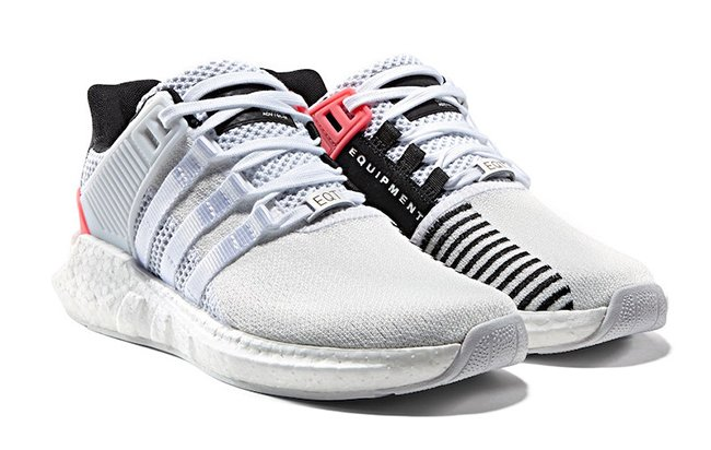 adidas eqt support 93 17 white turbo red sneakerfiles. Black Bedroom Furniture Sets. Home Design Ideas