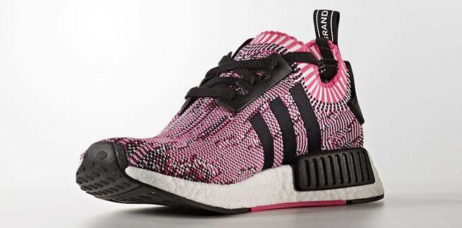adidas NMD R1 Primeknit Pink Rose