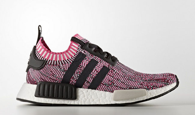 d386f4c485ee adidas NMD R1 Primeknit Pink Rose BB2363 Release Date