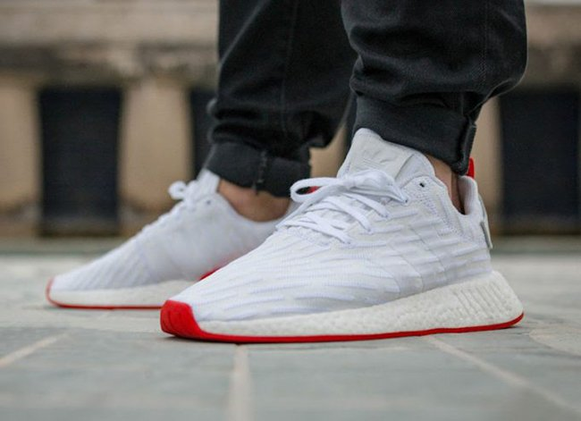 monitor Erudito idea  adidas NMD R2 White Red Release Date | SneakerFiles
