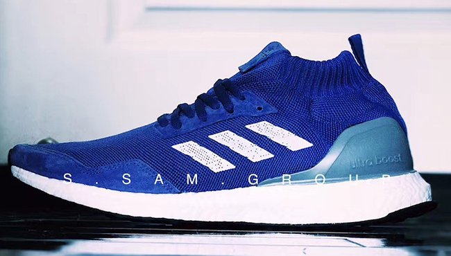 adidas Ultra Boost Mid Run Thru Time Blue 2017