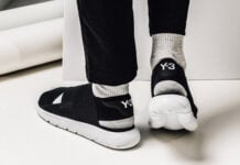 adidas Y-3 Qasa Sandal Core Black White