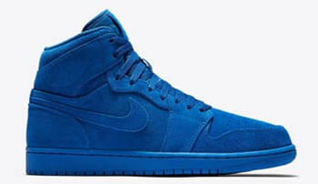 Air Jordan 1 Blue Suede