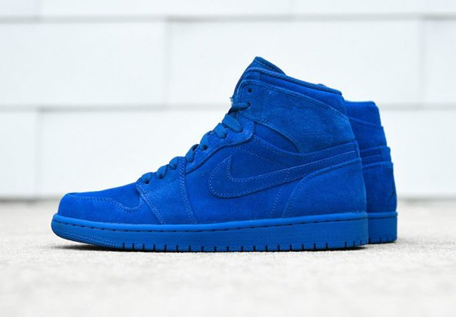Air Jordan 1 Blue Suede Release Date