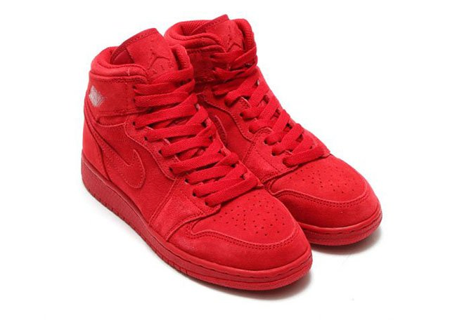 Air Jordan 1 High Gym Red Suede 705300-603 39c2876cdd67