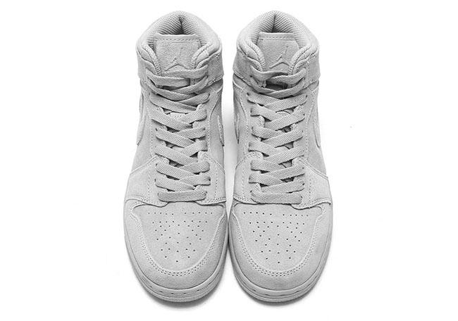 Air Jordan 1 High Wolf Grey Suede 705300-031