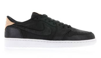 Air Jordan 1 Low OG Premium Black Tan