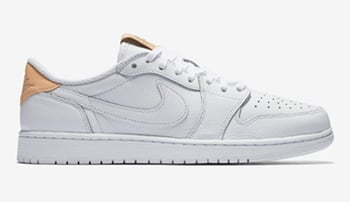 Air Jordan 1 Low OG Premium White Tan
