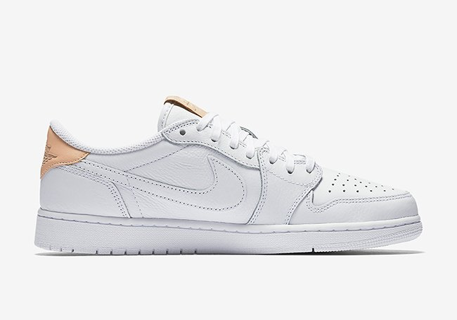 Air Jordan 1 Low OG Premium White Vachetta Tan