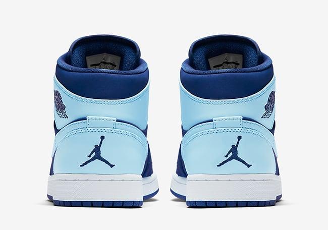 Air Jordan 1 Mid Ice Blue 554724-400