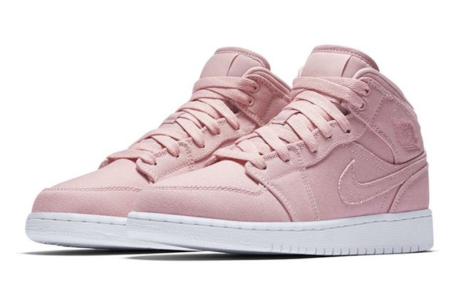 Light Pink And Gold Shoes Jordans