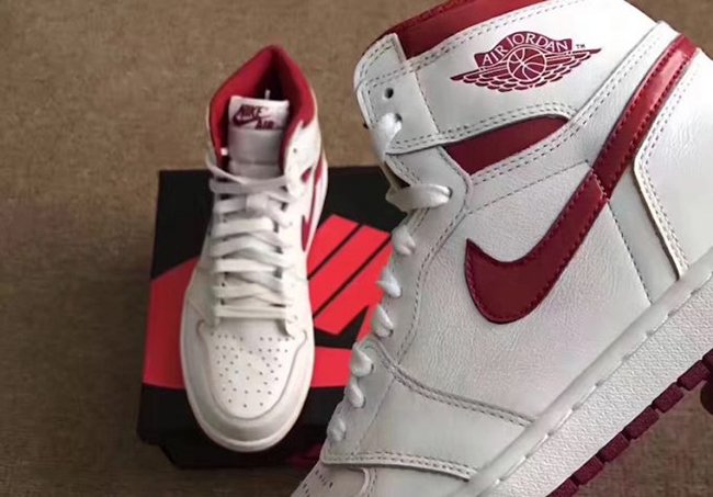 Air Jordan 1 OG Metallic Red Release Date