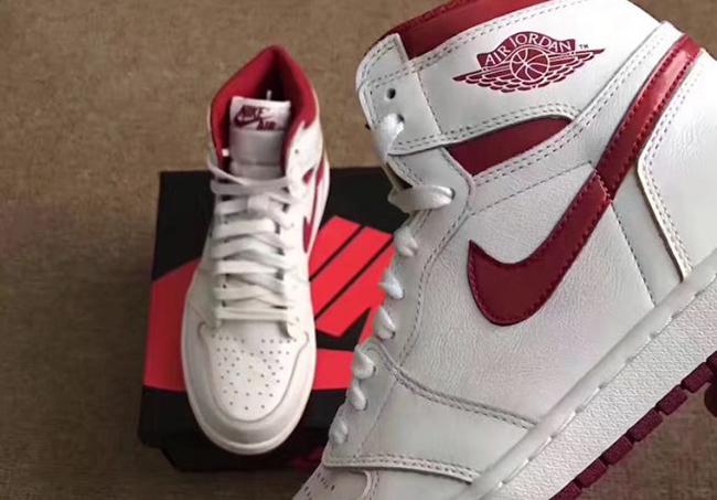 Detailed Look at the Air Jordan 1 Retro High OG 'Metallic Red'
