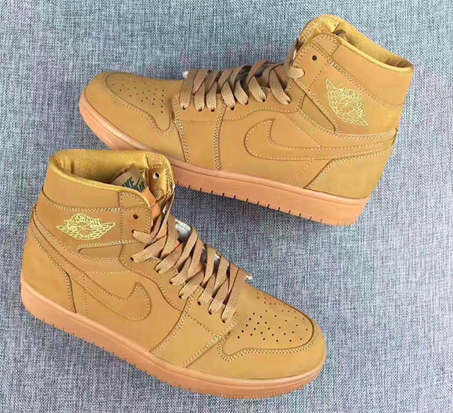 Air Jordan 1 Wheat Elemental Gold Gum Release Date