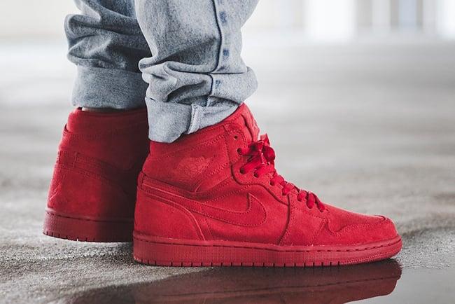 Air Jordan 1 Red Suede