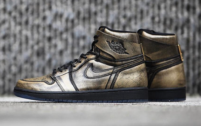 Air Jordan 1 Wings Metallic Gold AA2887-035