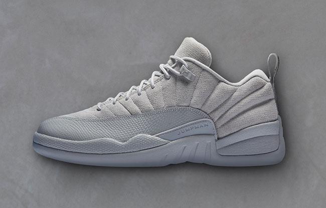 Air Jordan 12 Low Retro Wolf Grey