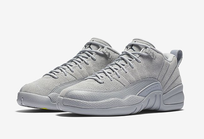 Air Jordan 12 Low Wolf Grey March 2017