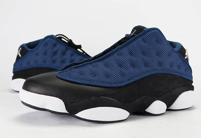 innovative design b25d4 ec980 Air Jordan 13 Low Brave Blue 2017 Retro Review On Feet