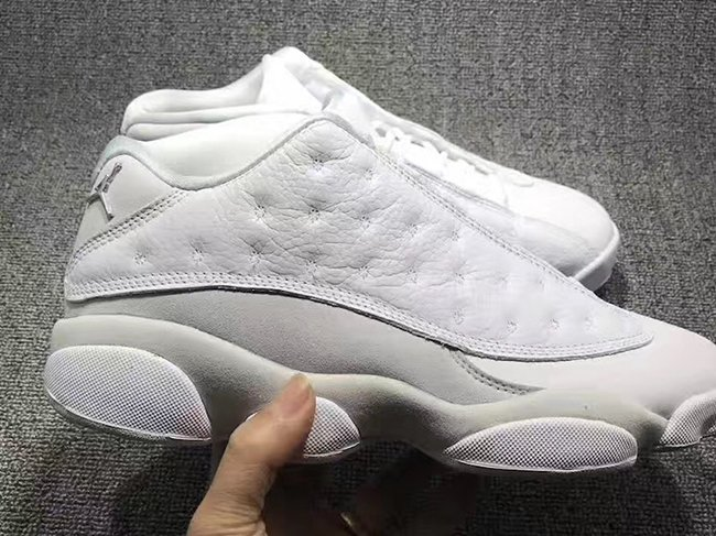 Air Jordan 13 Low Retro White Metallic Silver Pure Platinum