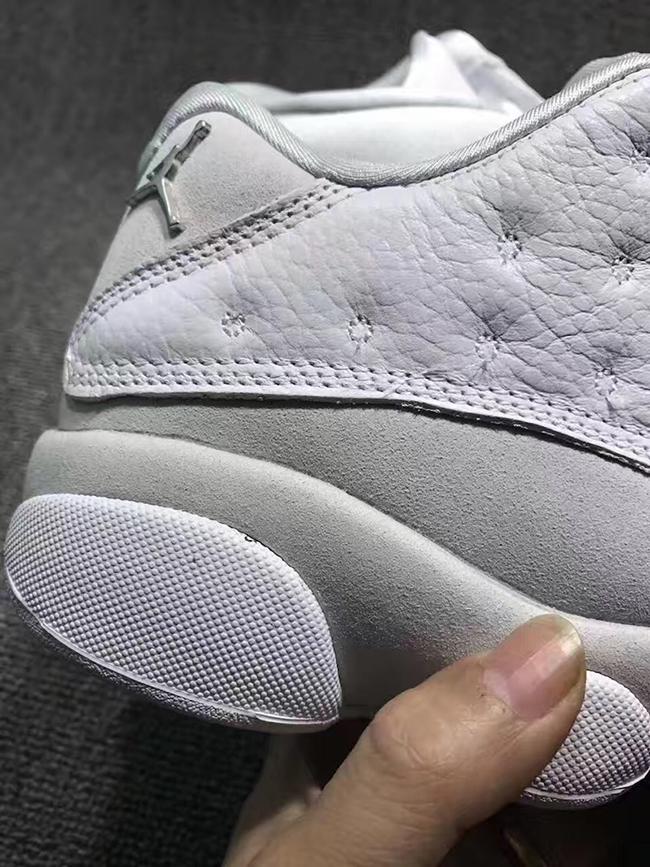 3ea30c01f88 Air Jordan 13 Low Pure Platinum 310810-100 Release Date | SneakerFiles