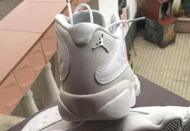 Air Jordan 13 Low White Metallic Silver Pure Platinum