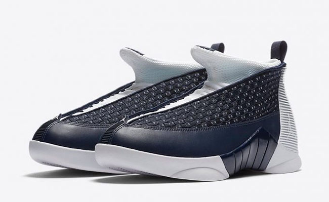 Air Jordan 15 Obsidian March 2017