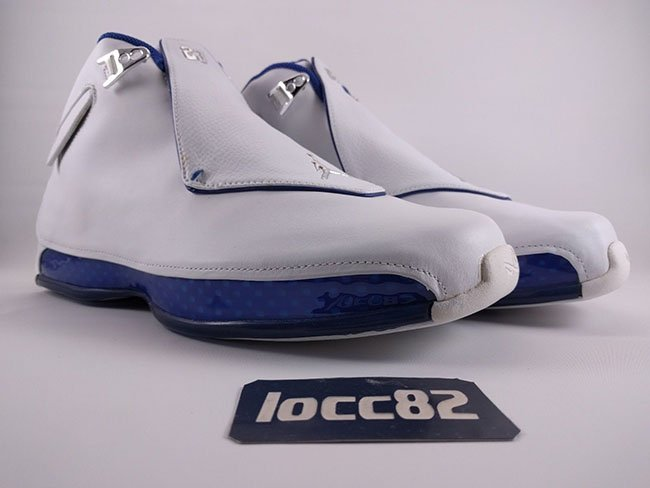 2512944190e921 Air Jordan 18 Retro 2017 White Sport Royal Blue