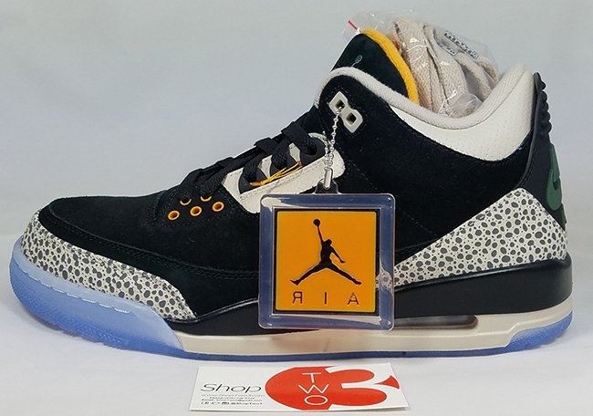 Air Jordan 3 Atmos Safari Pack