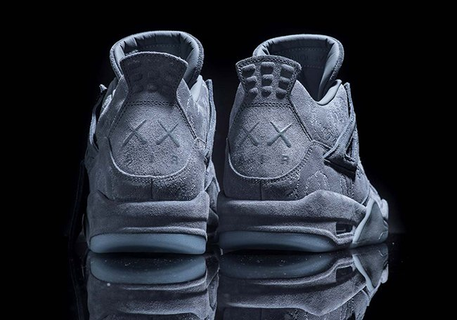 the latest 1c6b7 75fd4 KAWS Air Jordan 4 Cool Grey 930155-003 Release Info ...