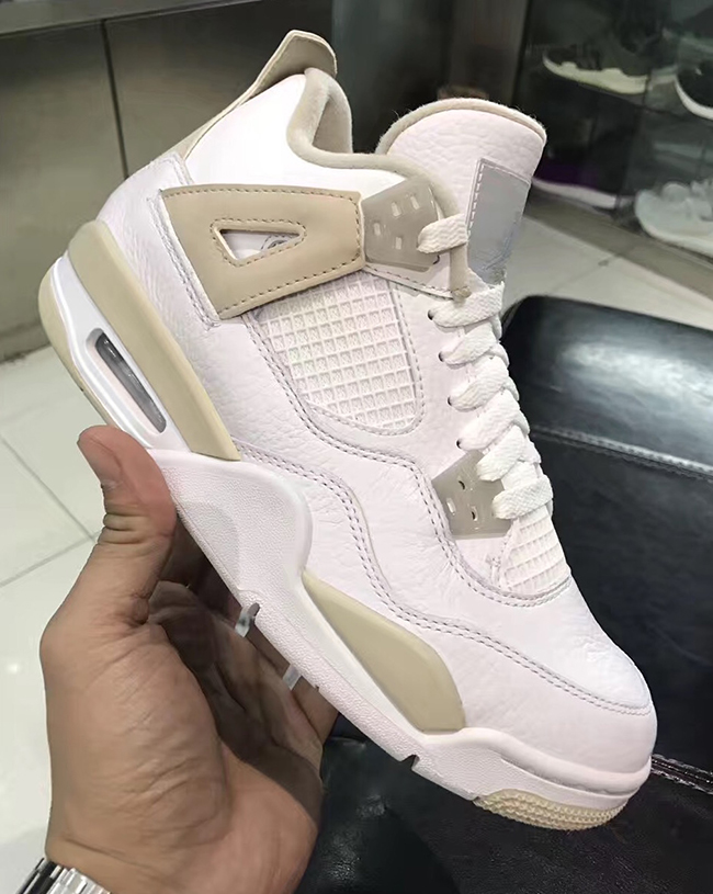 Air Jordan 4 Linen Light Sand Release Date