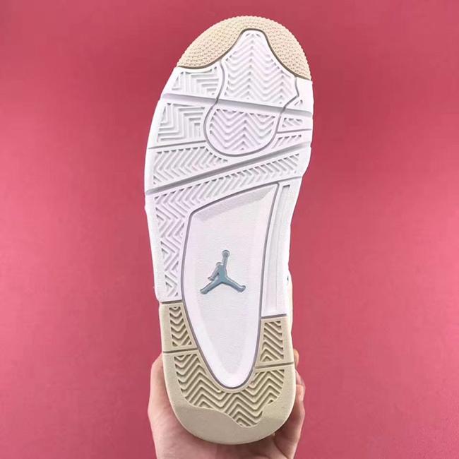 Air Jordan 4 Linen Sand 2017 Retro