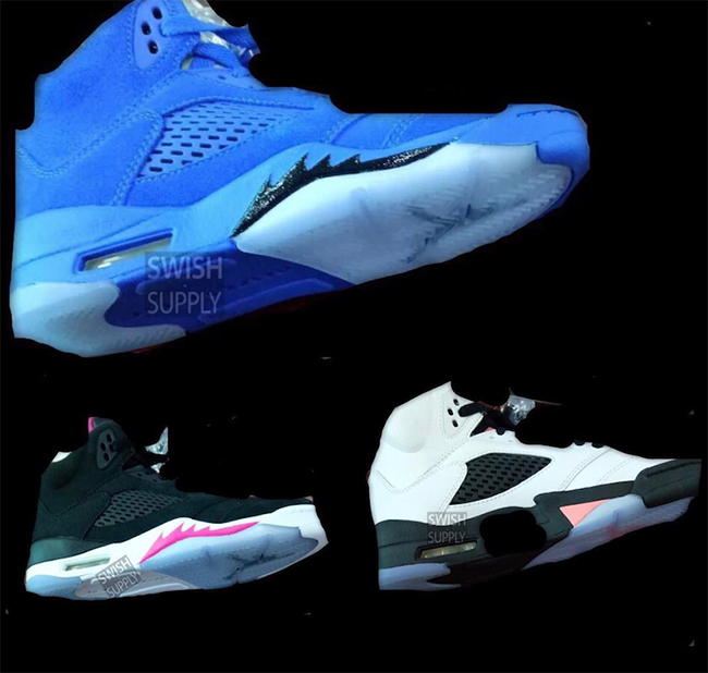 Air Jordan 5 2017 Colorways
