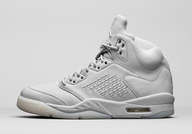 Air Jordan 5 Premium Pure Platinum Release Date