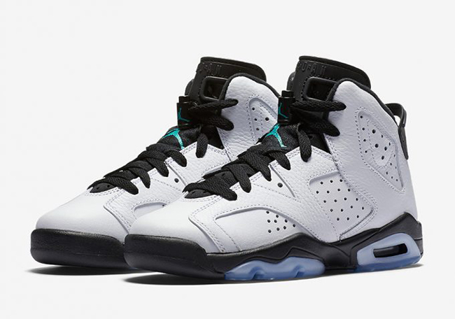 Air Jordan 6 GS Hyper Jade March 2017