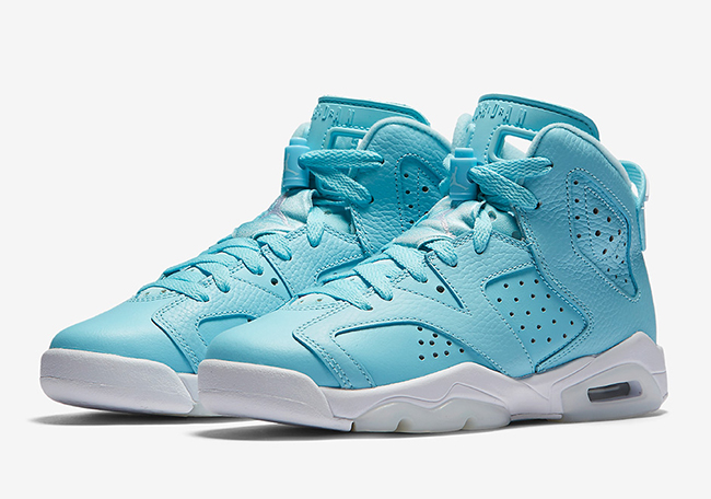 Air Jordan 6 Still Blue March 2017