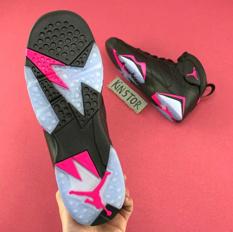 Air Jordan 7 Hyper Pink Black