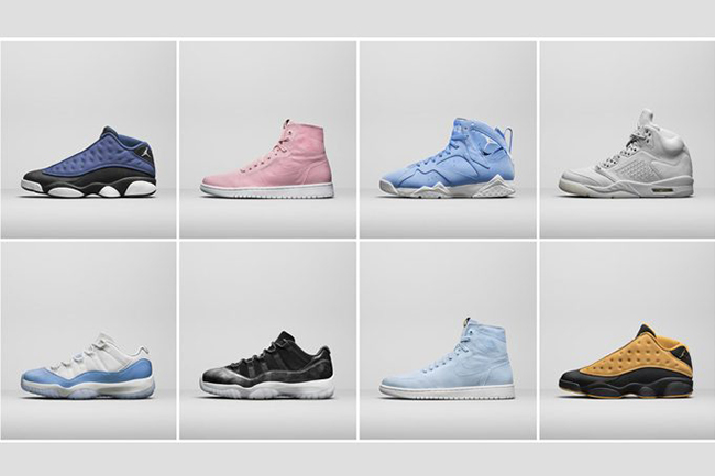 Air Jordan Summer 2017 Retro Release Dates