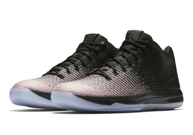 Air Jordan XXX1 Low Black White Pink