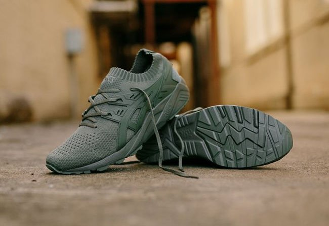Asics Gel Kayano Trainer Knit Agave Green