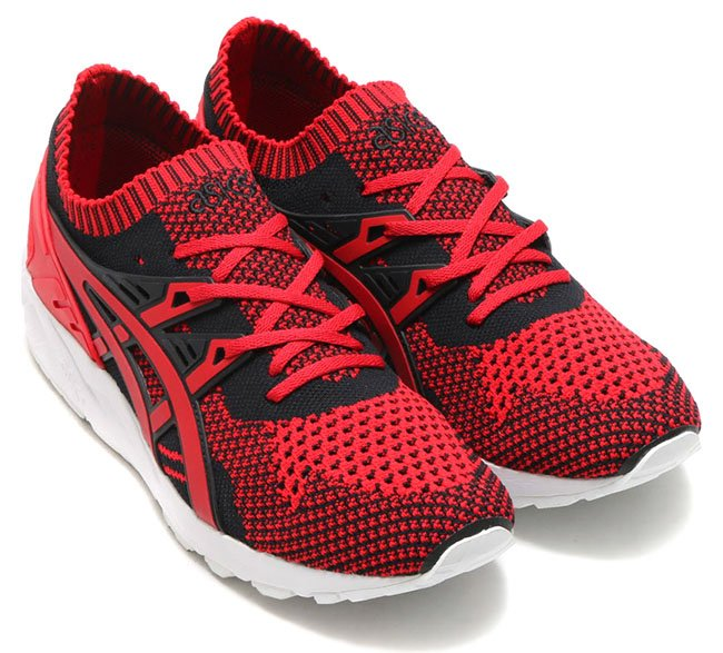 Asics Gel Kayano Trainer Knit Red