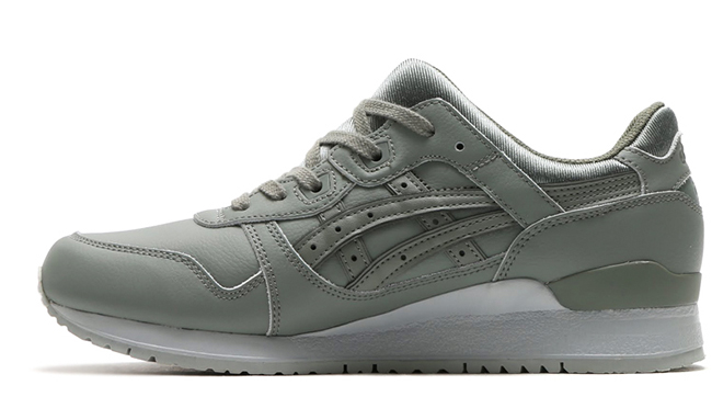 Asics Gel Lyte III Agave Green Leather