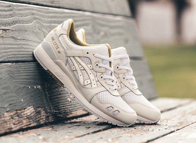 asics gel lyte 3 cream
